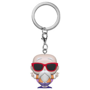 Dragonball Z Master Roshi (Peace Sign) Funko Pop Keychain