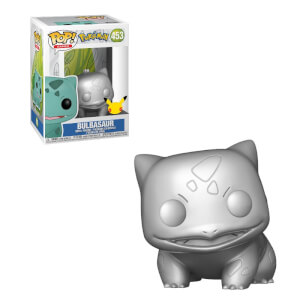 Pokemon Bulbasaur Silver Metallic Pop! Vinyl Figure