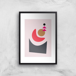 Abstract Sun Rise Giclee Art Print