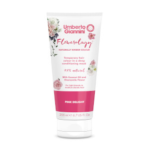 Umberto Giannini Flowerology Colour Mask - Pink Delight 195ml