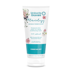 Umberto Giannini Flowerology Colour Mask - Forget-Me-Not 195ml