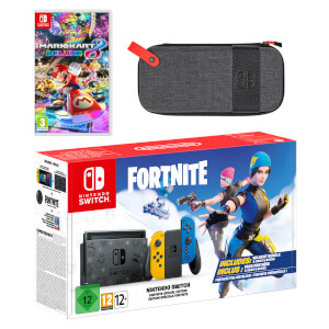 Nintendo Switch Fortnite Special Edition Mario Kart 8 Deluxe Pack