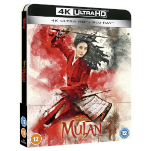 Mulan - 4K Ultra HD Zavvi Exclusive Steelbook (Includes Blu-ray)