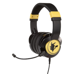 Nintendo Switch Gaming Headphones (Wired) - Pokémon Pikachu Silhouette
