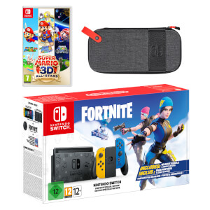 Nintendo Switch Fortnite Special Edition Super Mario 3D All-Stars Pack