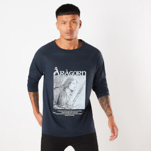 Lord Of The Rings Aragorn Son Of Arathorn Unisex Long Sleeve T-Shirt - Navy