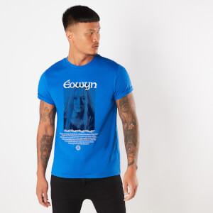 Lord Of The Rings Eowyn The Shieldmaiden Men's T-Shirt - Royal Blue
