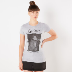 Lord Of The Rings Gandalf Women's T-Shirt - Grey