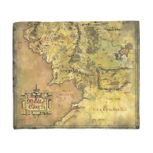 Herr der Ringe Middle Earth Blanket Fleecedecke