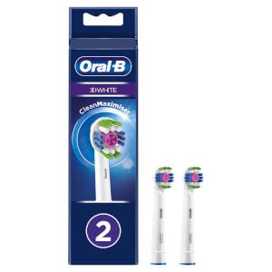 3D White Opzetborstels, Verpakking 2-Pak