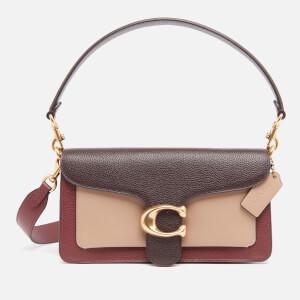 Coach Women's Colorblock Tabby Shoulder Bag 26 - Wine Multi