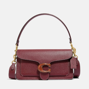 Coach Women's Resin C Closure Tabby Shoulder Bag 26 - Wine