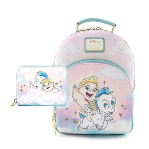 Loungefly Disney Baby Hercules And Pegasus Mini Backpack and Wallet Set