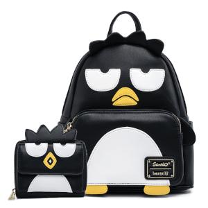 Loungefly Sanrio Badtz Maru Cosplay Mini Backpack and Wallet Set
