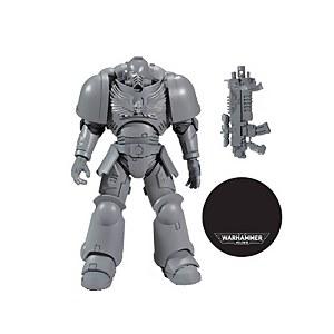 "McFarlane Toys Warhammer 40000 1 7"" Figures - Space Marine ""AP"" Action Figure"