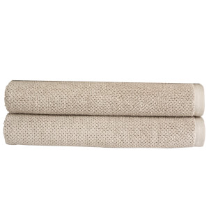 Christy Brixton Towel - Set of 2 - Pebble
