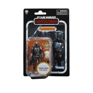 Hasbro Star Wars The Vintage Collection Din Djarin (The Mandalorian) and The Child Action Figure Set
