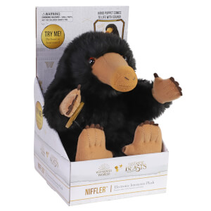 Noble Collection Harry Potter Niffler 9 Inch Electronic Interactive Plush