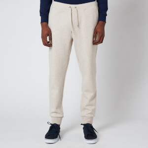 Polo Ralph Lauren Men's Double Knitted Athletic Jogger Pants - Expedition Dune Heather
