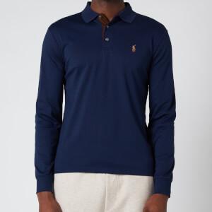 Polo Ralph Lauren Men's Interlock Long Sleeve Polo Shirt - French Navy