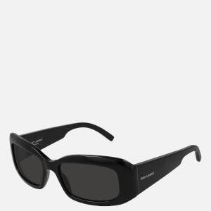 Saint Laurent Women's Rectangle Frame Sunglasses - Black