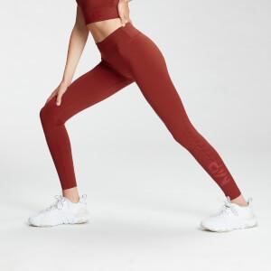 MP Women's Fade Graphic Training Leggings - Burnt Red