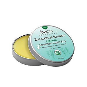 Babo Botanicals Eucalyptus Remedy Soothing Chest Rub