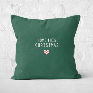 Home This Christmas Square Cushion