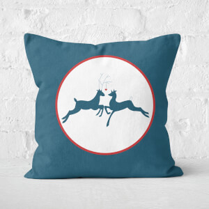 Reindeer Love Square Cushion