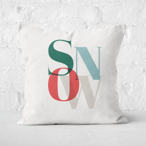 Snow Square Cushion