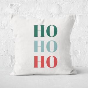 Ho Ho Ho Christmas Square Cushion