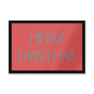 Merry Christmas Entrance Mat