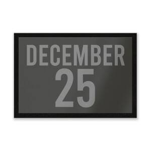 December 25 Entrance Mat