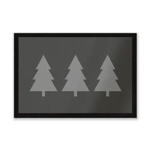 Christmas Trees Entrance Mat