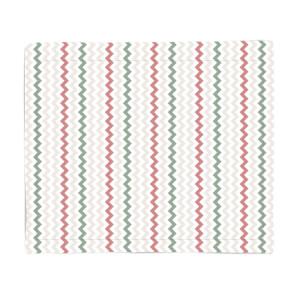Geo Christmas Fleece Blanket