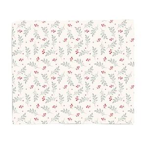 Classic Christmas Pattern Fleece Blanket