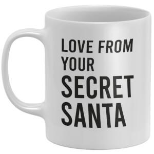 Love From Your Secret Santa Mug