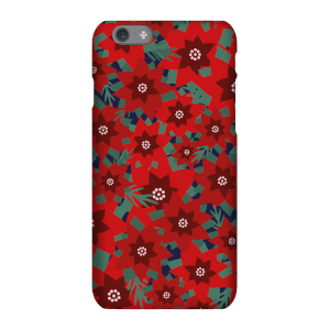 Christmas Flowers Phone Case for iPhone and Android