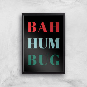 Bah Hum Bug Giclee Art Print