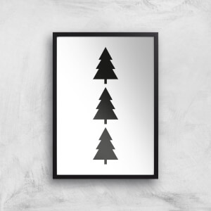 Christmas Tree Giclee Art Print