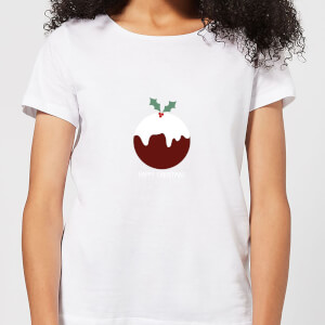Christmas Pudding Women's T-Shirt - White