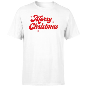 Merry Christmas Men's T-Shirt - White