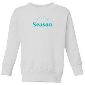 Tis The Season Kids' Sweatshirt - White