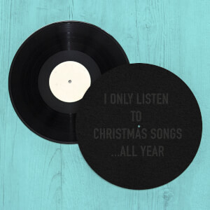 Christmas Songs All Year Slip Mat