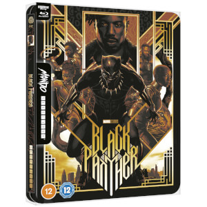 Marvel Studios' Black Panther - Mondo #42 Zavvi Exclusive 4K Ultra HD Steelbook (includes Blu-ray)
