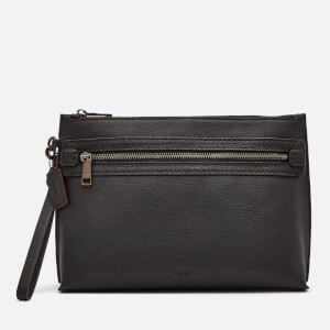 Coach Men's Academy Pouch - Pebble Leather
