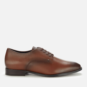 Coach Men's Metropolitan Leather Derby Shoes - Saddle