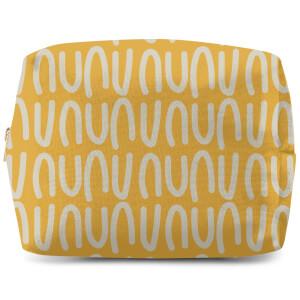 Yellow Natural Make Up Bag