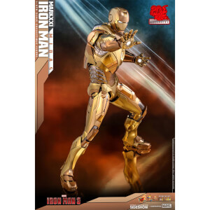 Hot Toys Marvel Iron Man Mark XXI (Midas) 1:6 Scale Action Figure - UK Exclusive