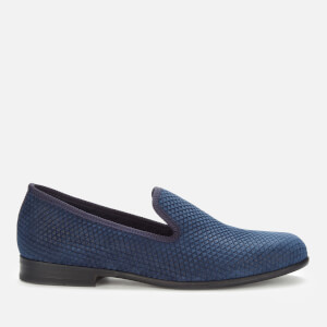Duke + Dexter Men's Duke Pyramid Loafers - Navy
